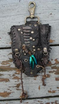Leather pocket by missmonster
