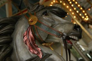 Carousel Horse 3 by BlindedbyScience