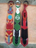 Super Hero ties by raptor007