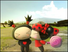 Pucca and Garu Free Time by SigfriedX