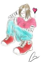 Converse by GIANTGIRL