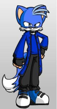 me as a sonic character by bladra