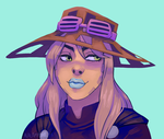 Gyro Zeppeli by alalampone