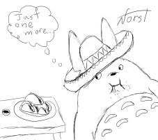 Totoro And His Tacos by ProNorst