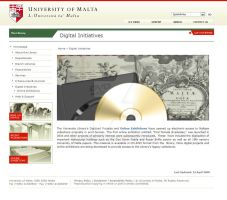 Library Website Screenshot 3 by mangion