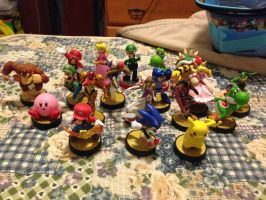 My Amiibo collection UPDATE by MarioBlade64