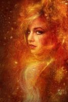 High Priestess Fire by JenaDellaGrottaglia