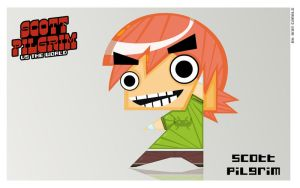 Scott Pilgrim by vancamelot