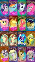 Certified Brony Tag Badges by marymouse
