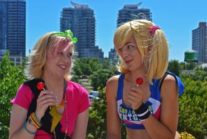 Lollipop Chainsaw: Grrrrrlll by arienettee