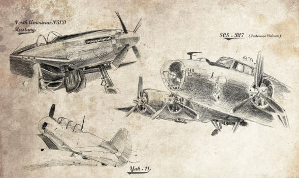 Old planes 2 by bouss
