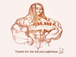 300,000 Thank You picture by Jebriodo