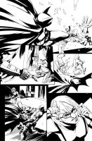 Page from Batman Short by evnaccd