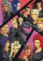 KH2 - Organization XIII poster by Teh-O