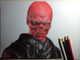Red Skull - First avenger by Saules-dievas