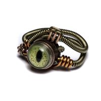 Reptile steampunk eye ring 6 by CatherinetteRings