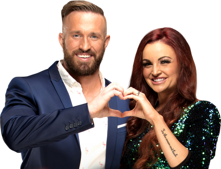 Mike and Maria Kanellis 2017 PNG by AmbriegnsAsylum16