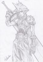 Cloud Strife by Louha-chan