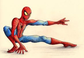 Spiderman by manzanaperdida