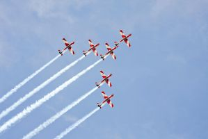 RAAF Roulettes in Bunbury by RaynePhotography