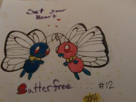 Butterfree love by nobodygirlxy