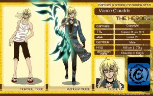 CR : Vance Claudde by Etude-Xillia
