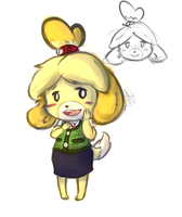 Isabelle by leadhooves