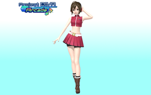 Project Diva Arcade Default Meiko cuz yes. by Luke-Flame