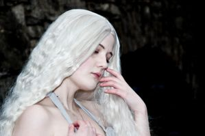 Daenerys cosplay -The Storm Born.- by MikkiCrossCC
