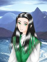 young elf by Daga-Saar