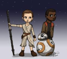 The Force Awakens by witchofoz93