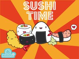 SUSHI TIME by andreachichizola