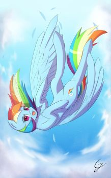 Free Fall by Laptop-pone
