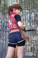 Claire Redfield cosplay by RedfieldClaire