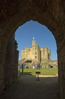 Warkworth Castle by parallel-pam