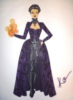 Once Upon a Time: The Evil Queen by Viscountess-Vesper