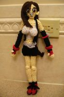 Tifa Amigurumi by Phantasmfreud