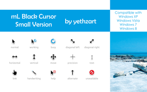 mL-Blau Cursor (Smaller Version) by yethzart