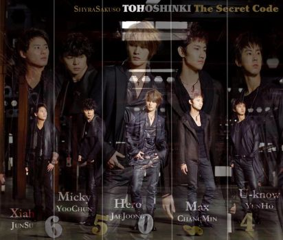 DBSK: The Secret Code by ShyraSakuso