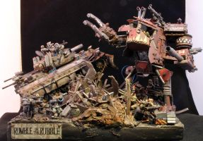 Rumble in the Rubble by not-Santa
