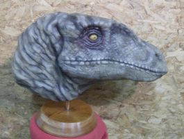 Velociraptor Head finished 2 by XtcofPain