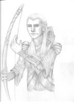 Legolas by cupcakeanimefighter