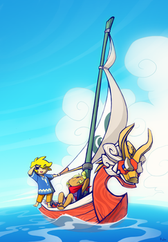 The Wind Waker by Tsuuuuu