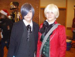 Ciel and Alois - Tigercon 2012 by WolvesOfComedy