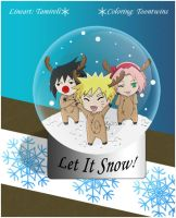 Let It Snow, Let It Snow, Let It Snow by ToonTwins