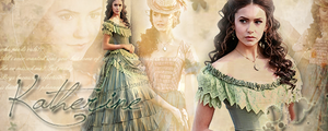 The vampire diaries Katherine by litlemusa