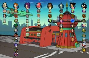 Futurama - PS3 Theme by yorksensation