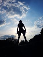 LaraCroft - Silhouette2 by TanyaCroft