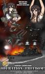 Kantai Collection Operation Freedom Poster #2 by AnimeRailFan