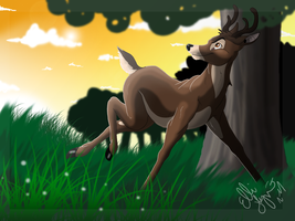 Free Bambi by GreenEco94
